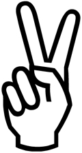Top 10 Common Ha...V For Victory Sign
